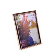 Porta retrato de plástico cobre 10x15 cm