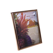 Porta retrato de plástico cobre 15x20 cm