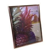 Porta retrato de plástico cobre 20x25 cm