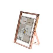 Porta retrato de ferro Renda Rose 10x15 cm