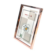 Porta retrato de ferro Ètnico Rose 15x20 cm