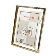 Porta retrato de ferro Ètnico Dourado 15x20 cm