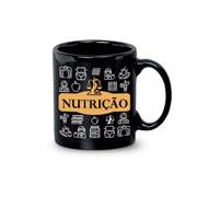 Caneca de cerâmica Profissão Nutrição 340 ml