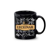 Caneca de cerâmica Profissão Lecionar 340 ml