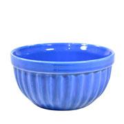Tigela de cerâmica Azul Italia 13x06 cm