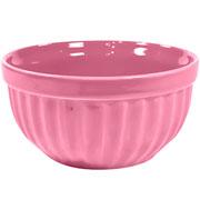 Tigela de cerâmica Italia rosa 13 cm