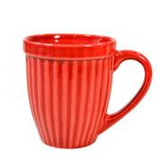 Caneca de cerâmica Italia vermelha 390 ml
