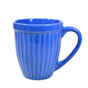 Caneca de cerâmica Azul Italia 400 ml