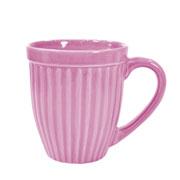 Caneca de cerâmica Italia rosa 390 ml