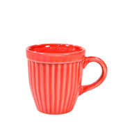 Caneca de cerâmica Vermelha Small Italia 120 ml