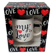 Caneca de cerâmica Love 340 ml