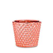 Cachepot em cerâmica rose 06 cm