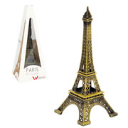 Enfeite decorativo torre eifel 15 cm