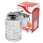 Porta mel de vidro 300 ml