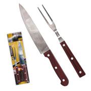 Kit para churrasco Holz 02 peças