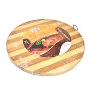 Tábua de madeira redonda 30 cm