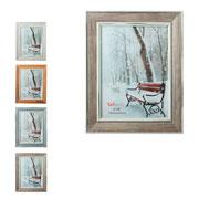 Porta retrato de madeira soft colors 15x20 cm