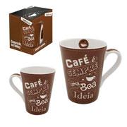 Caneca de ceramica muddy Café sempre 340 ml