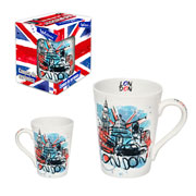 Caneca de ceramica muddy london 320 ml
