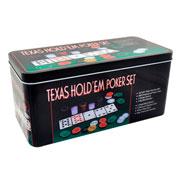 Jogo de poker 200 fichas com 2 baralhos