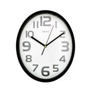 Relógio de parede oval colors 28 cm