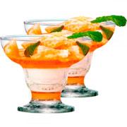 Jogo de Taças de Sobremesa Cancun 06 peças 300ml