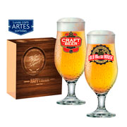 Conjunto de Taças Happy Hour Royal Beer 330 ml 02 peças