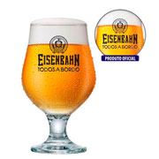 Taça cerveja Eisenbahn beer 380 ml
