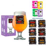 Taça de vidro linha funny beer master 380 ml