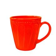 Caneca corona relieve laranja 300 ml