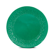 Prato raso corona relieve green 26 cm