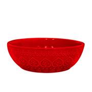 Bowl corona relieve vermelho 523 ml