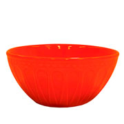 Bowl alto corona relieve laranja 550 ml