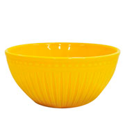Bowl alto corona relieve amarelo 550 ml