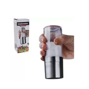 Moedor manual de pimenta ou sal em inox - UniHome