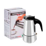 Cafeteria italiana 320 ml  para 06 cafés - UniHome