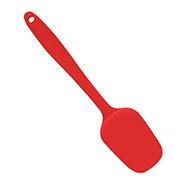 Espatula de silicone vermelha 29 cm