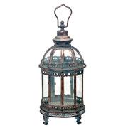 Lanterna decorativa em metal 42 cm