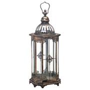 Lanterna decorativa em metal 68 cm