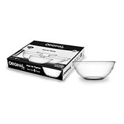 Jogo de tigelas de vidro redonda lisa 06 peças