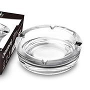 Cinzeiro de vidro Safira 11 cm