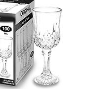 Jogo de taças de vidro Diamante 100 ml 04 peças