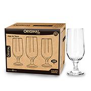 Jogo de taças de vidro Crystal 380 ml 06 peças