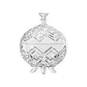 Bomboniere de vidro Diamante 20 cm
