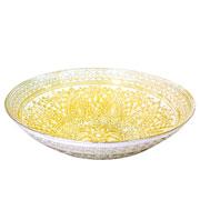 Centro de mesa Capadocia gold 33 cm