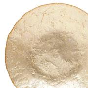 Centro de mesa de vidro moon 40 cm