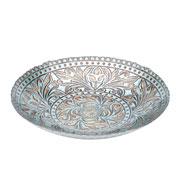 Centro de mesa de vidro Tyrel 40 cm