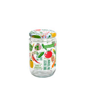 Pote de vidro daily Fresh 660 ml