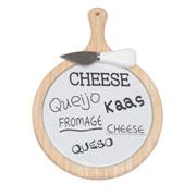 Conjunto para queijo 02 peças