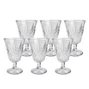 Conjunto de taças de vidro transparente Dublin 250 ml 06 peças